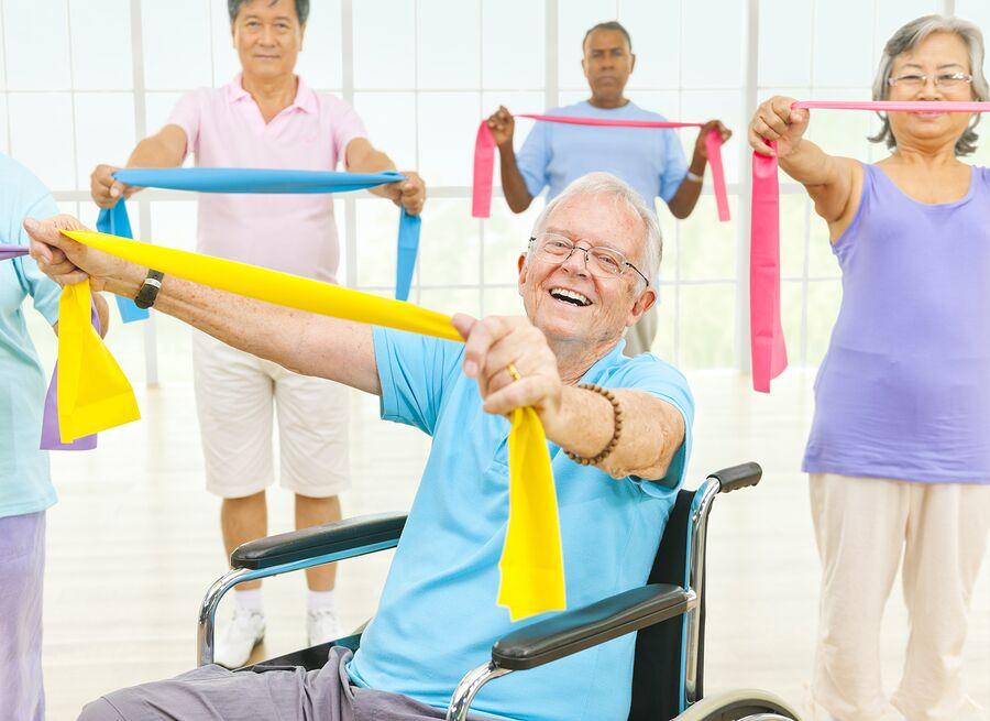 Home Health Care in Berkeley Lake GA: Senior Exercise